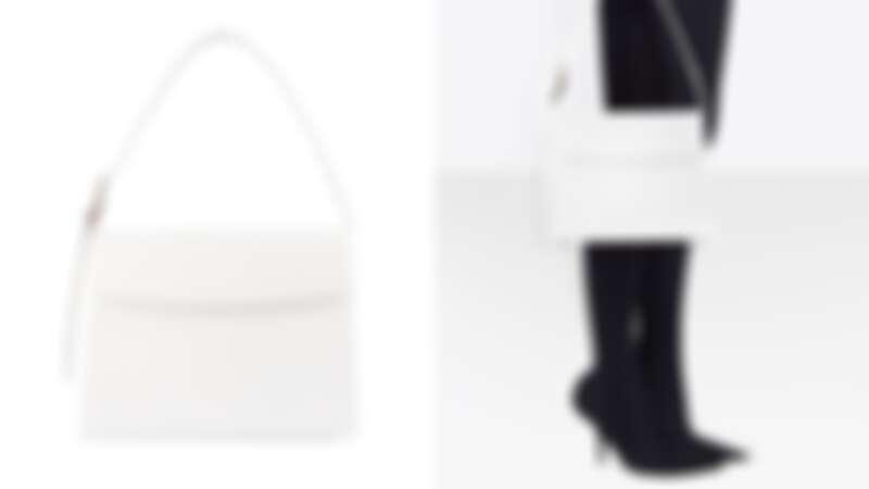 白色蜥蜴壓紋M(NT$55,900)