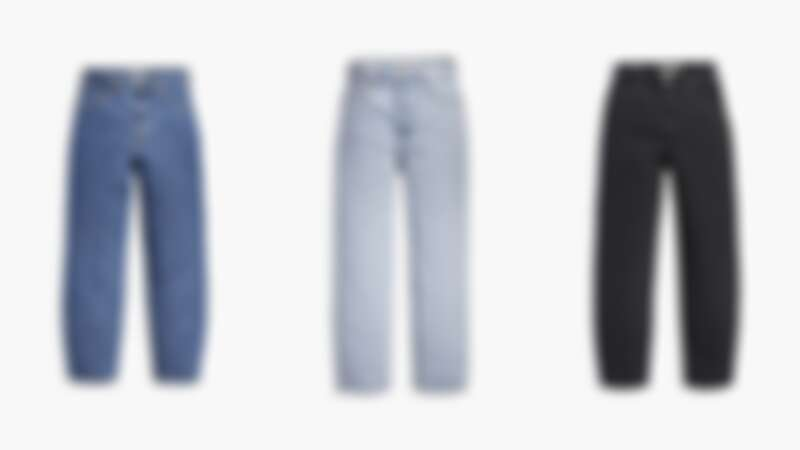 LEVI'S® Balloon時髦高腰繭型褲復古淡藍,NT 3,790-3,990