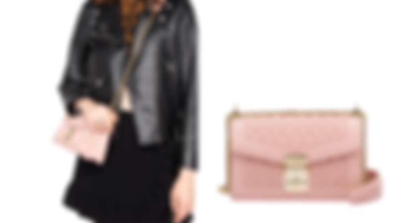 Miu Miu CONFIDENTIAL MATELASSÉ皮革金屬鍊帶包,NT57,500
