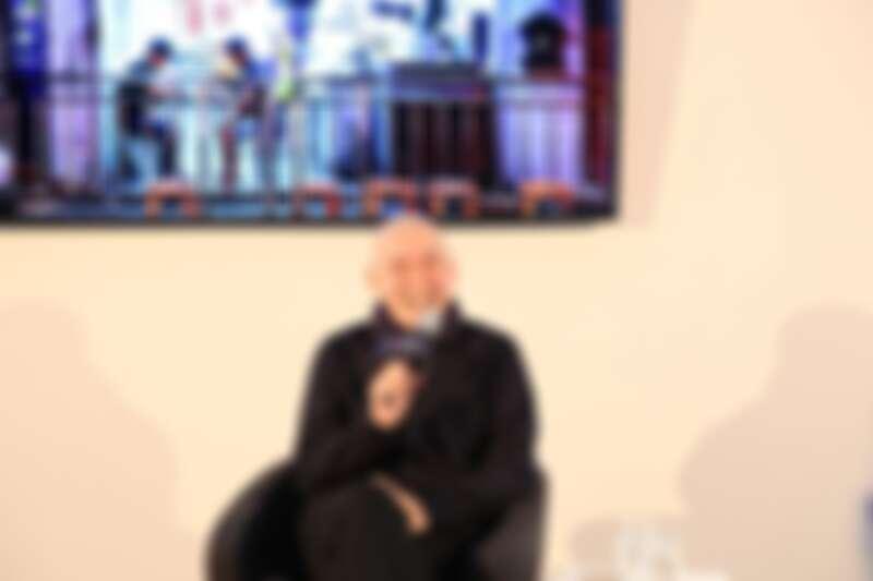 文策院於柏林影展期間,舉辦蔡明亮導演大師講座