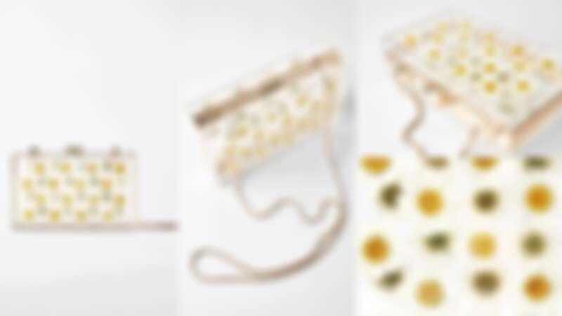 自然色雛菊單肩箱型包(NT$1,590)