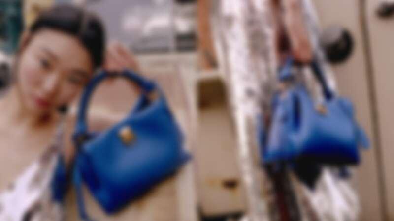 Johnny Coca創作的Iris系列手袋