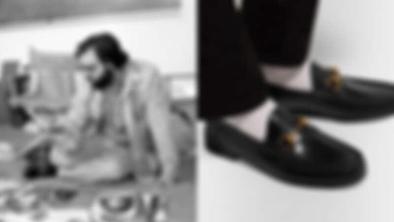 傳奇電影導演 Frances Ford Coppola著Gucci經典樂福鞋