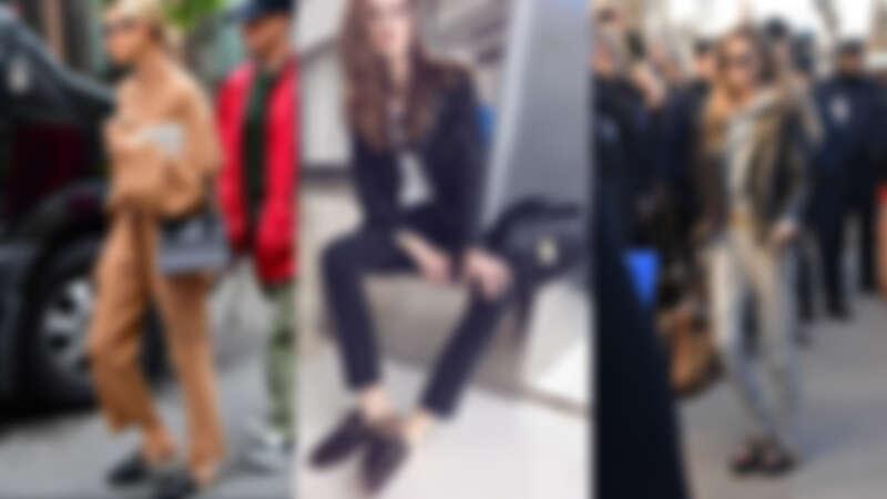 2015年引起轟動的毛毛穆勒鞋