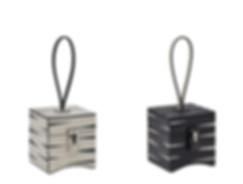Mini Vanity Ramses拉美西斯(Natural Calf),白黑相間包款、黑白相間包款。