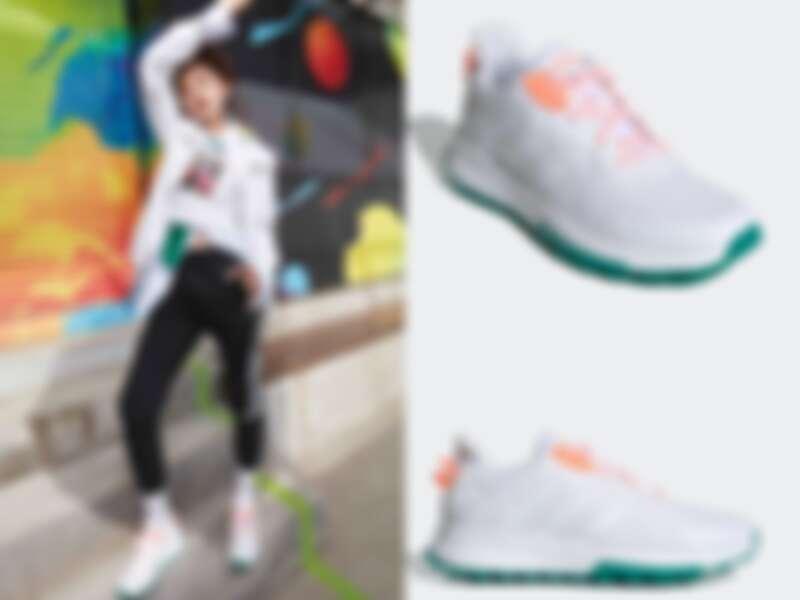 宋祖兒著QUESA TRAIL X鞋款(NT$2,490)