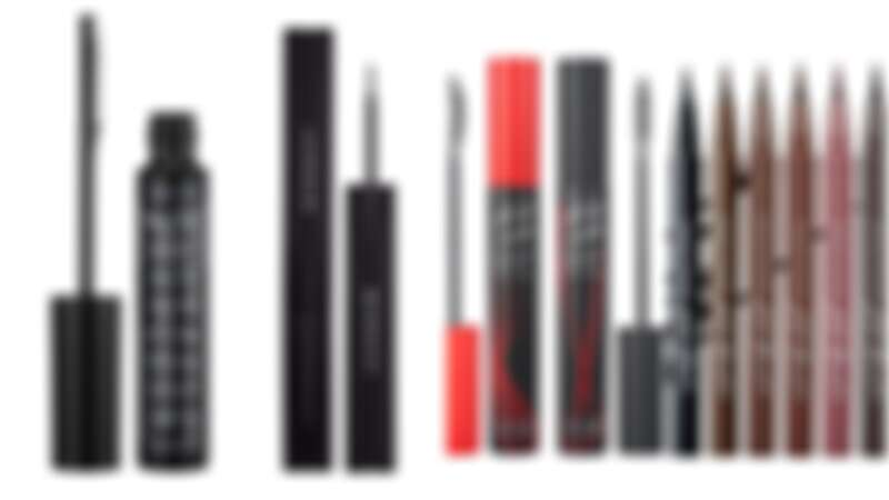 艾杜紗魔束捲翹睫毛底膏限量纖版,NT520。Givenchy 紅色風暴精準持久眼線筆,NT950。Clio 絕色玩美纖翹防水睫毛膏,NT390。Clio 新魅黑防水濃烈眼線液,NT350。