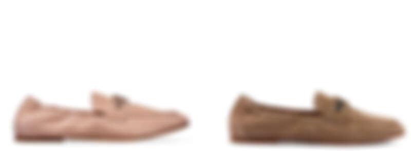 TOD'S TIMELESS裸粉色樂福鞋、TOD'S TIMELESS樂福鞋