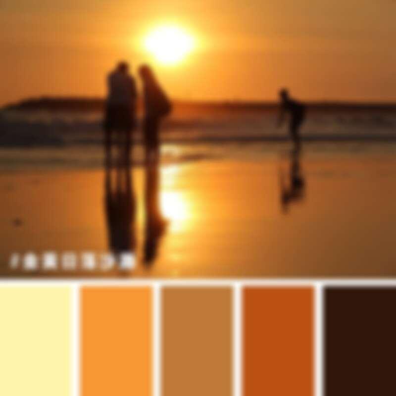台南漁光島的金黃色夕日美景。圖片來源:臺南市政府觀光旅遊局