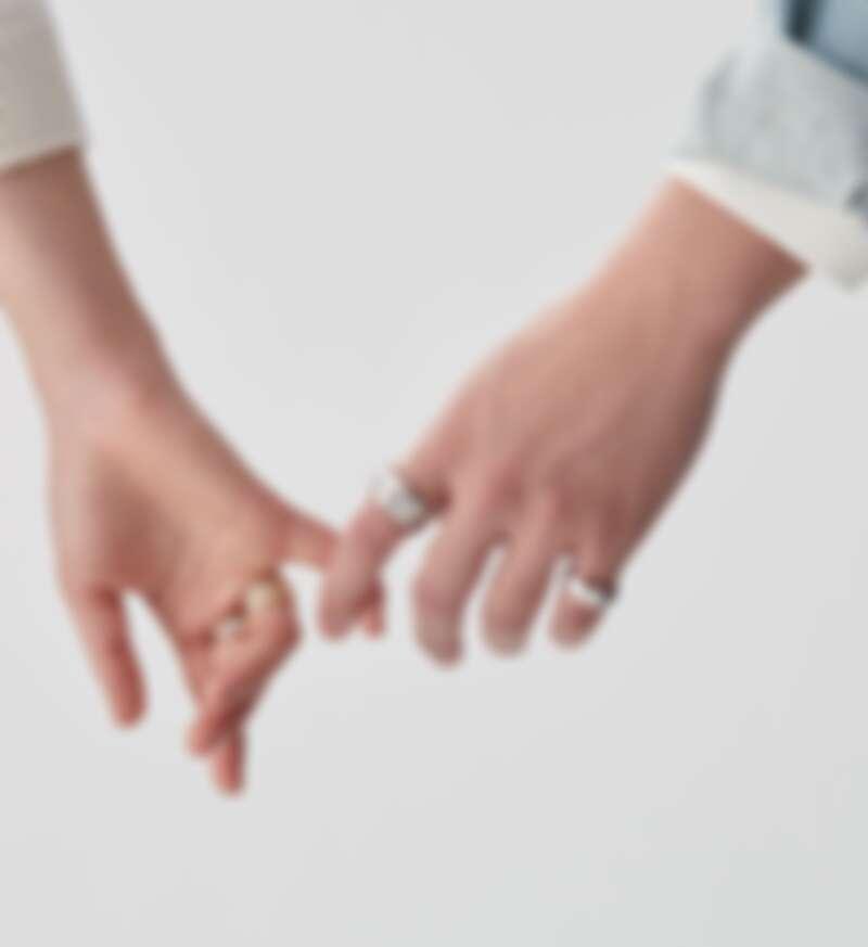 COCO CRUSH 高級珠寶系列戒指,all by Chanel。