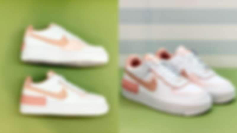 NIKE AIR FORCE 1蜜桃粉色,NT4,000