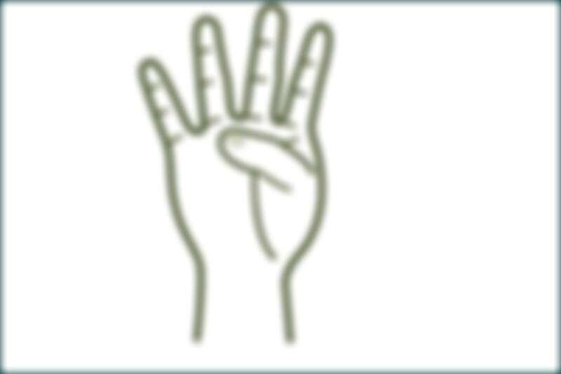 手掌上的「止火點」,在無名指下方。