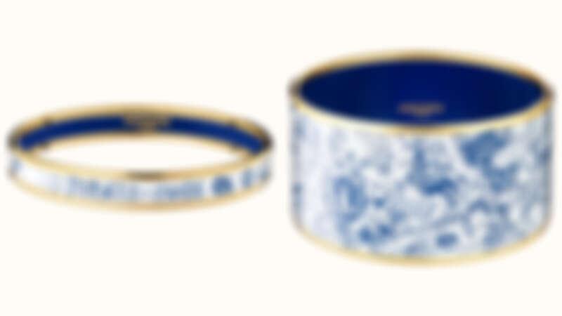 Hermés Dessus Dessous La Folle Parade手環(細/寬),約為NT16,000/22,695