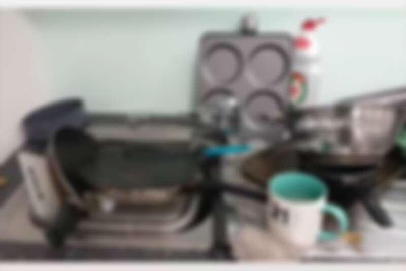 宿舍廚房髒亂的冰山一角