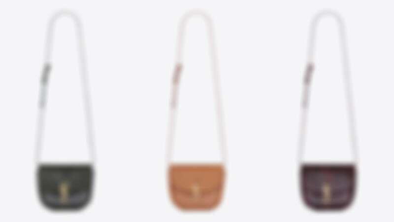 迷你KAIA牛皮小包(NT$41,700)小款KAIA牛皮小包(NT$50,000)、 小款KAIA蟒蛇皮小包(NT$65,000)