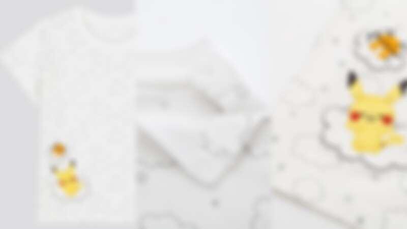 童裝的設計有許多貼心細節,如肩部的鈕釦等。(NT$290)