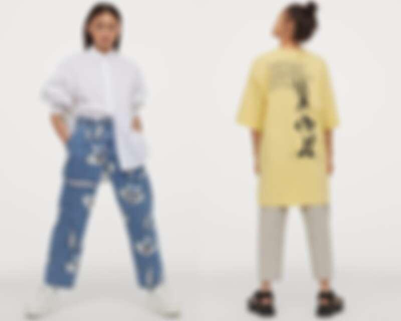 (左)褲子NT$999、(右)上衣NT$499