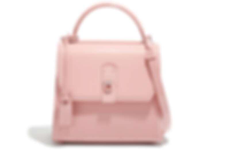 BOXYZ粉色漆皮提包(NT$83,900)