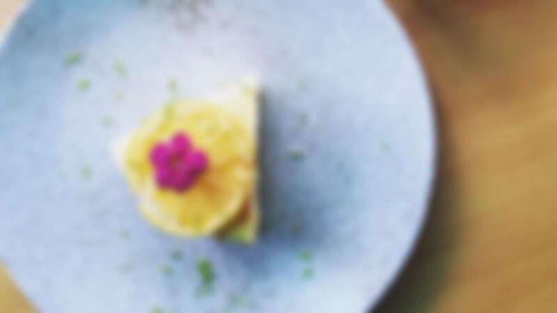 誠品生活南西5/1-5/10 「夢幻甜點店」|別所Shelter|小農檸檬起司蛋糕