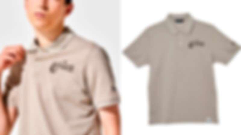 採用咖啡染色的拯救企鵝系列Polo衫(NT$7,690)
