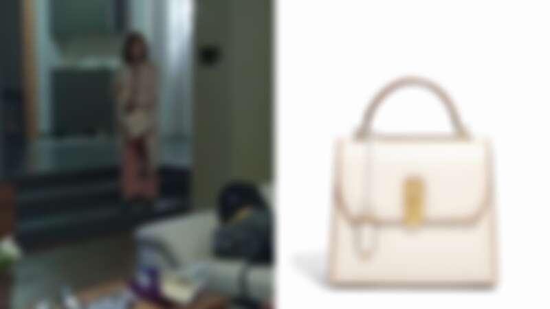 善雨同款:BOXYZ白色牛皮提包大型尺寸(NT$89,900)