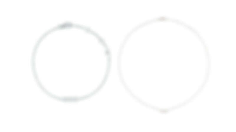 Mimirose 白K金鑽石手鍊、Mimirose 白K金鑽石項鍊,all by Dior