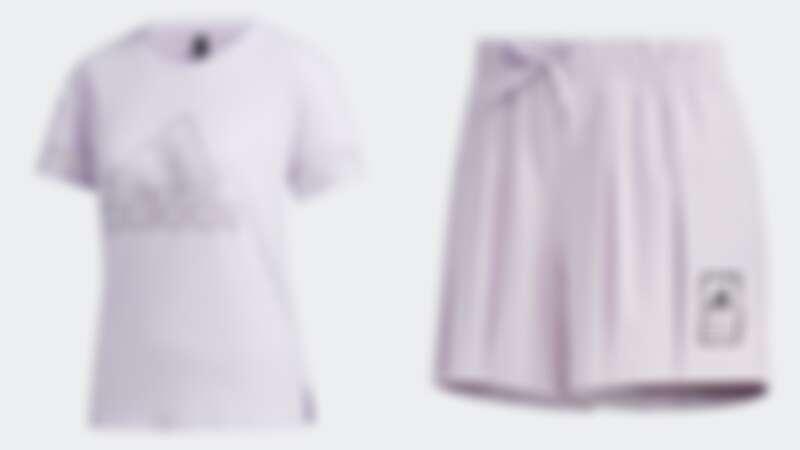 上衣(NT$1,090)、褲裙(NT$1,690)