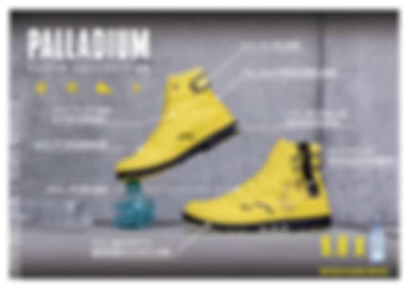 地球日前夕,Palladium 推出「地球系列:橘標防水RCYCL系列」