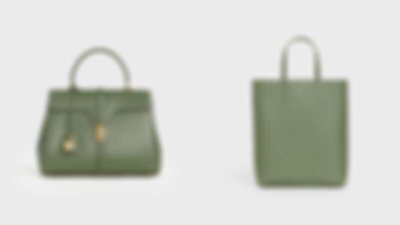 16小牛皮中型提包(NT$140,000)、CABAS小牛皮小型肩背提包(NT$41,000)