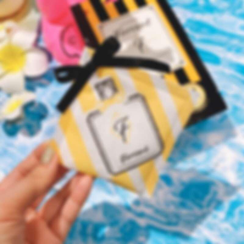 活動期間店內消費贈Farcent香水雞蛋花香水香氛袋體驗包