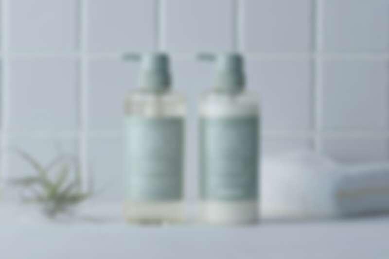 BOTANIST植物性彈潤蓬鬆洗髮精與潤髮乳