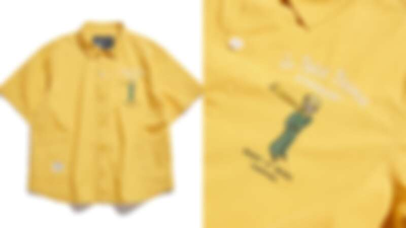 小王子溫柔雙口袋襯衫(NT$1,880)