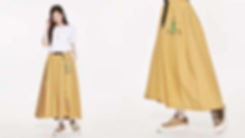 星空小王子腰帶圓裙(NT$1,980)