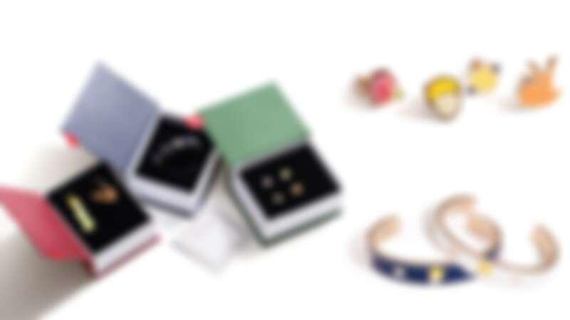 小王子耳環組(NT$980)、星空小王子手環(NT$1,480)