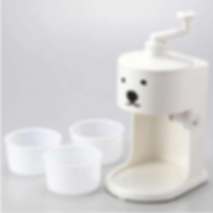 北海道札幌圓山動物園白熊製冰機,在家就可以製作雪花冰或是傳統刨冰|誠品書店