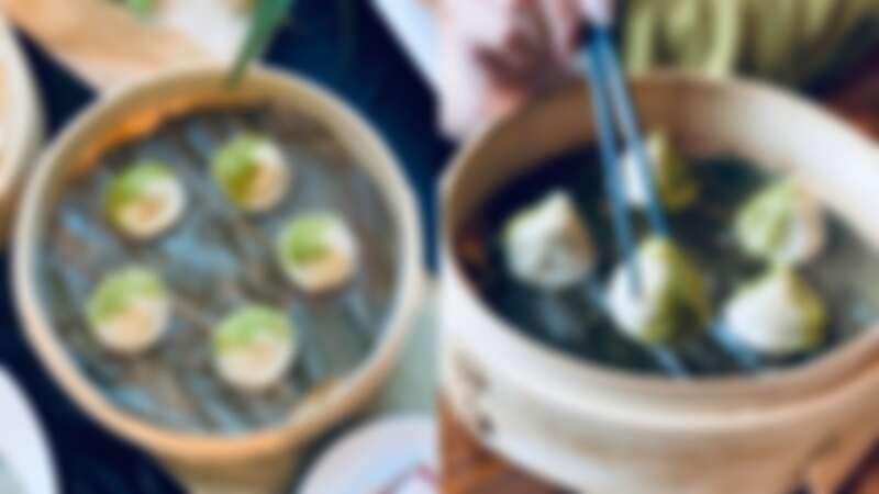 台灣粽口味小籠包