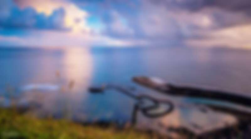 走訪澎湖七美島上著名的雙心石滬。Source: KLOOK