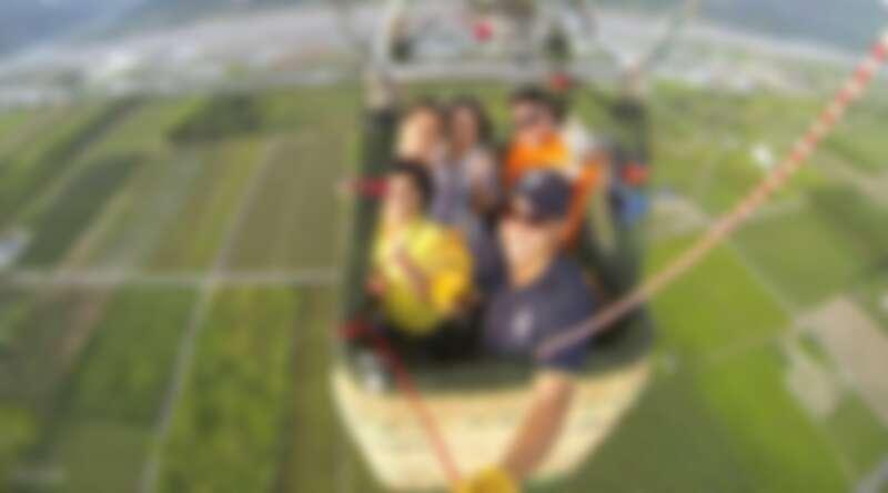 乘著熱氣球到天空中遊覽,悠哉地欣賞東台灣讓人嘆為觀止的美景。Source: KLOOK