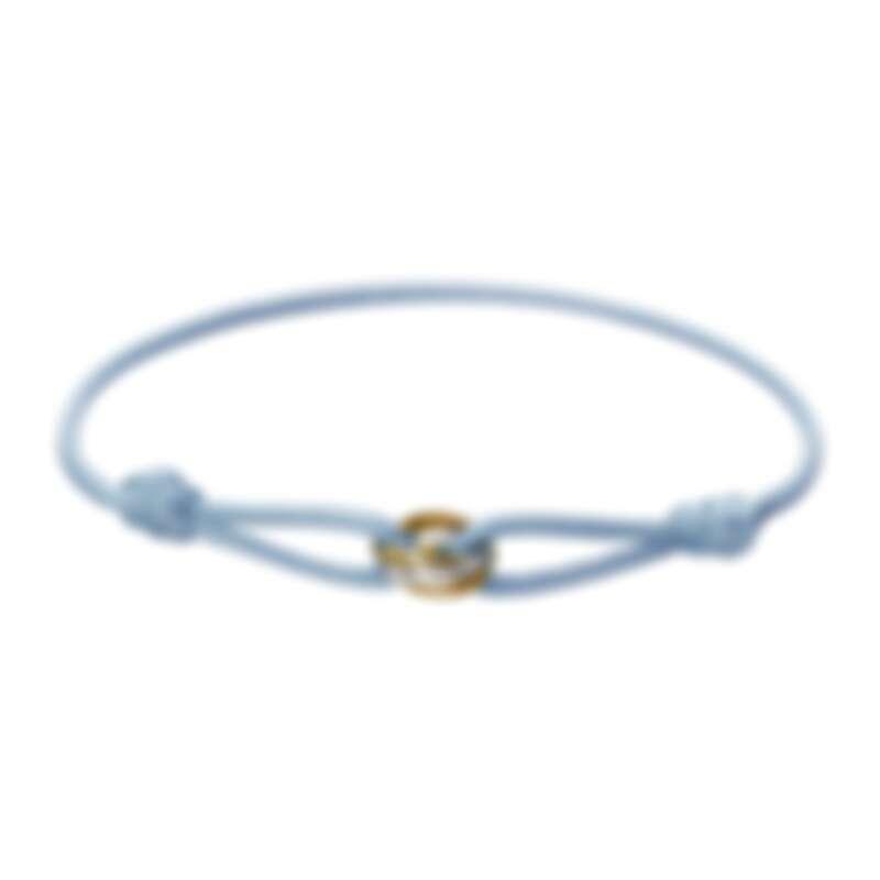 Trinity絲繩手環-嬰兒藍