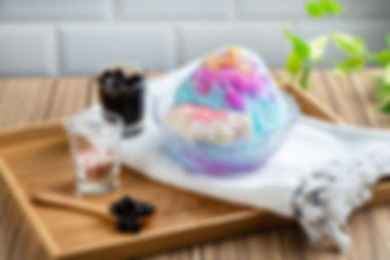 誠品生活西門店|ICE MONSTER|獨角獸棉花甜|推薦價150元。