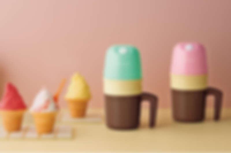 誠品書店|日本風格家電品牌recolte|迷你冰淇淋機|推薦價1,080元。
