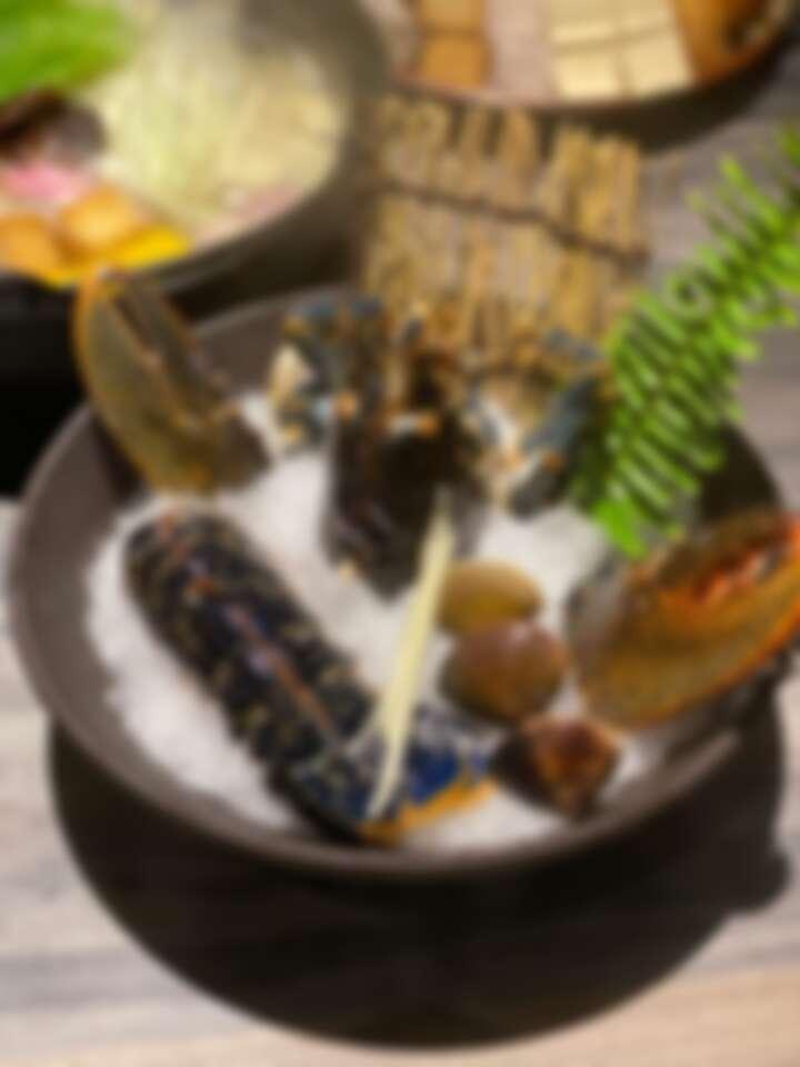 法國頂級藍龍蝦套餐