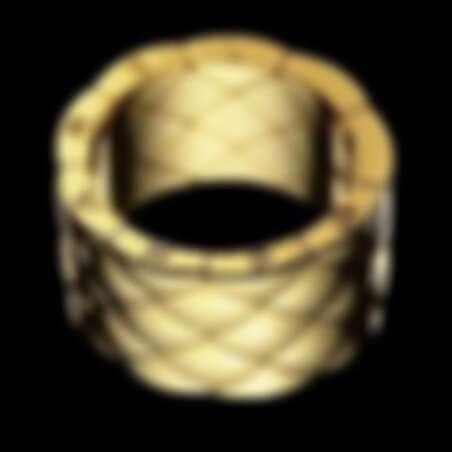 1998年,菱格紋圖騰珠寶作品Matelassé