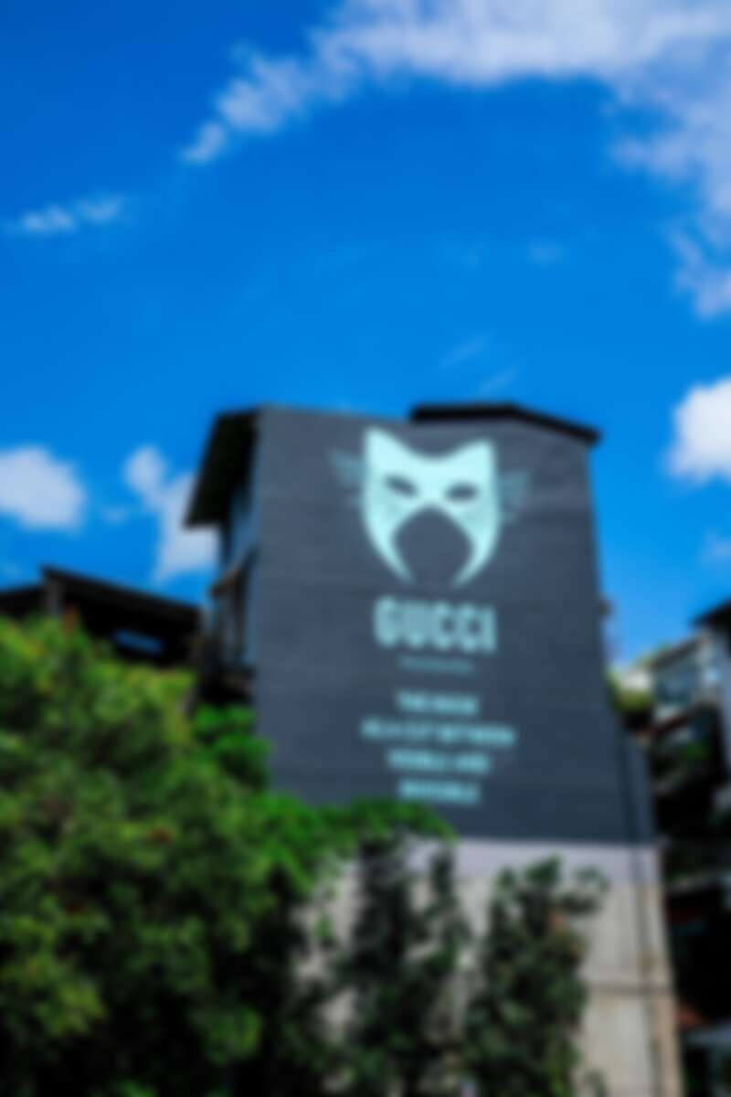 Gucci 藝術牆 台北永康街 2019年7月