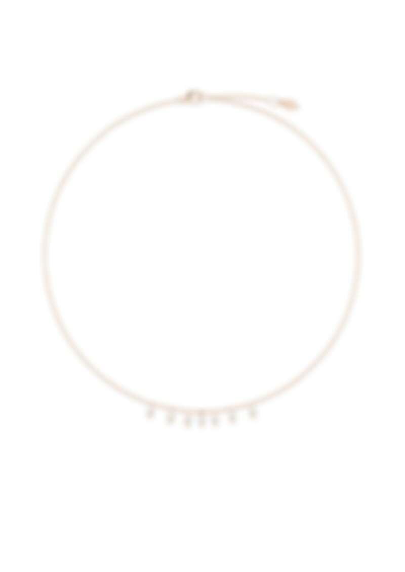 PIAGET Sunlight系列18K玫瑰金鑽石項鍊,建議售價NTD117,000 (2020年新款)