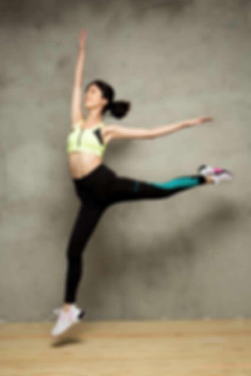 PUMA訓練系列FZ高衝擊運動內衣,NT1,680、 PUMA訓練系列First Mile 9分緊身褲,NT1,880、PUMA TRAINING訓練系列Provoke XT鞋款,NT3,280。