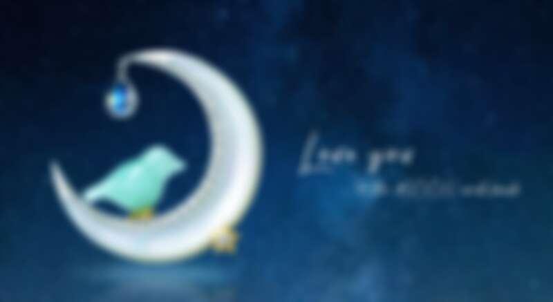 林曉同月亮青鳥胸針墜飾兩用作品