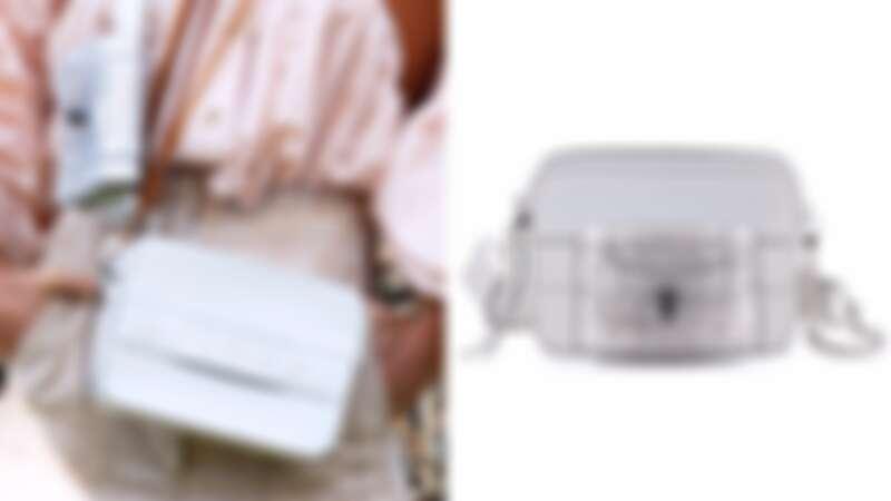 售價:(左 相機包)NT55,500、(右 手拿包)NT30,900