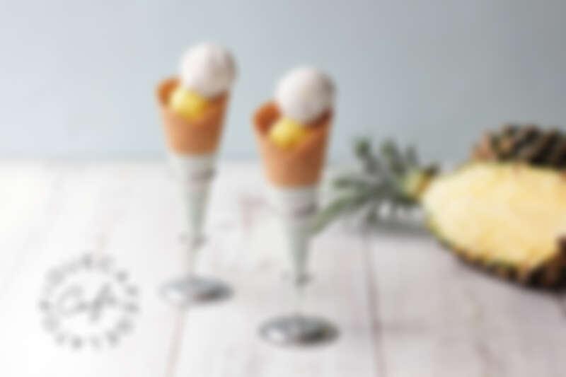 芒果雪酪&檸檬雪酪雙球冰淇淋 $200