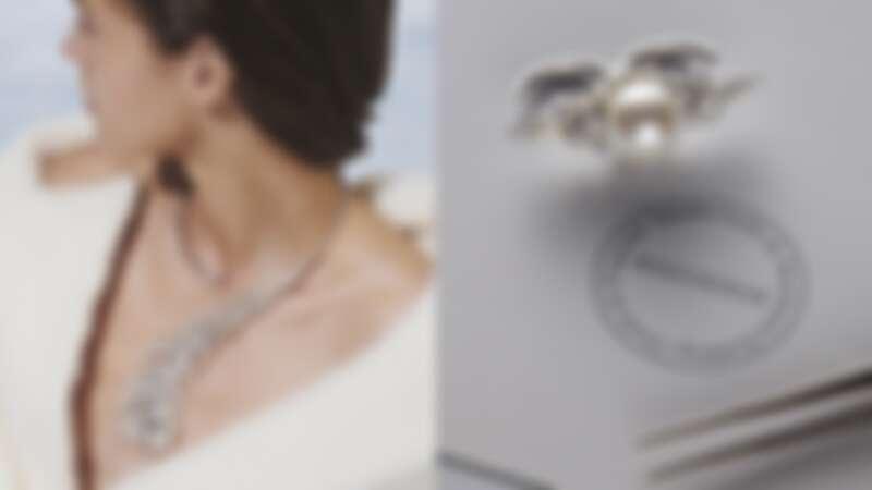 Boucheron寶詩龍2020年全新Contemplation系列Perles de Plume主題問號項鍊與戒指